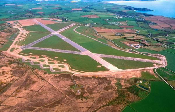 St Davids Airfield aerial