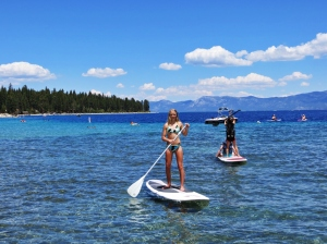 Emma on Lake Tahoe