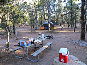 Grand Canyon camp