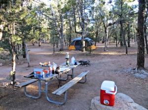 Grand Canyon camp