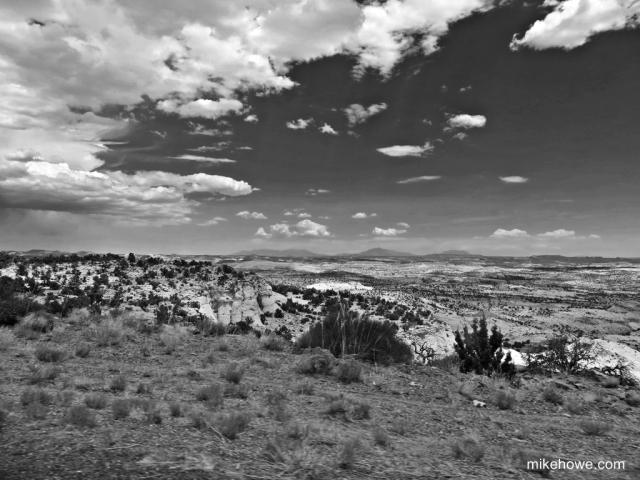 View from scenic highway 12 Utah