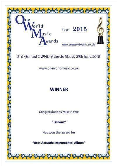 Owmr award