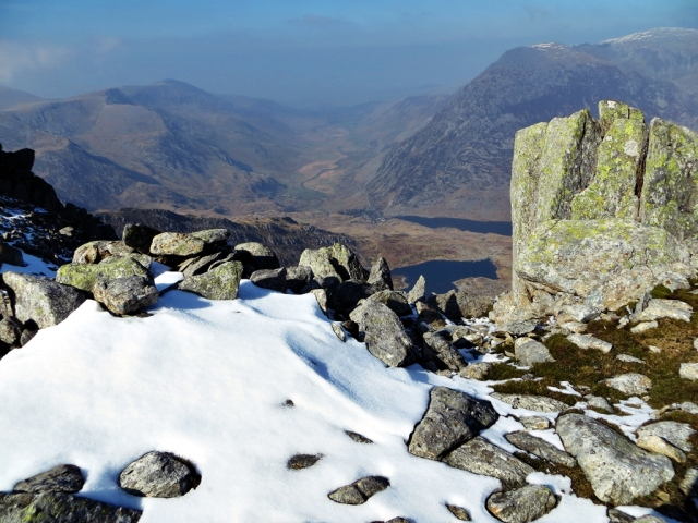 View of Nant Ffrancon