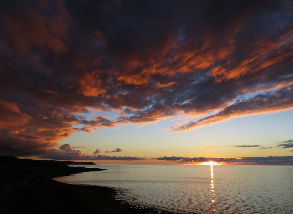 Cardigan Bay sunset 2